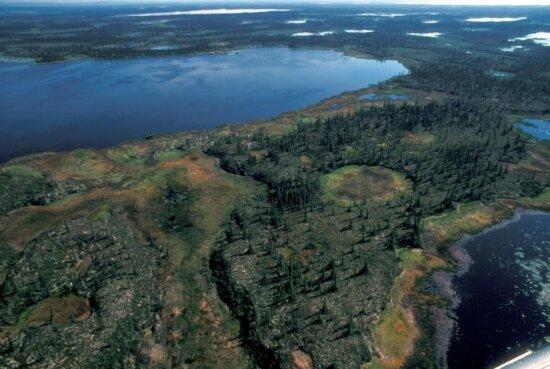 area, between, mile, lake, mud, river
