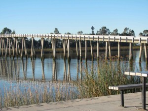 beldens, aterrizaje, Sacramento, río