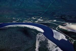 Koyukuk, rivière, été, nature
