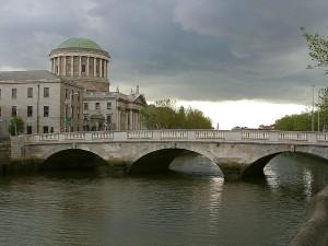 Most, Liffy, řeka, Dublin