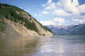 canoeing, Yukon, river