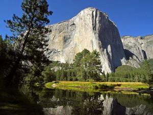 Capitan, Merced, rivière, Yosemite