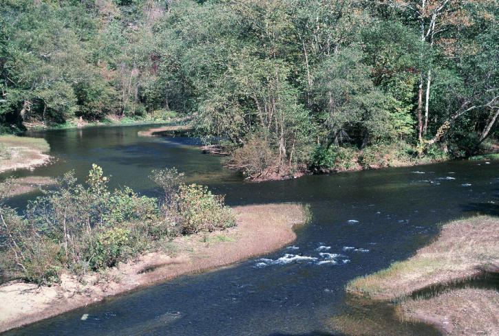 Άλκης, ποτάμι, δυτικά, Βιρτζίνια