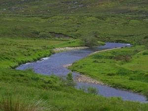 glen, river, Ireland