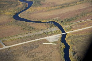 kanuti, river, Dalton, highway, river, crossing