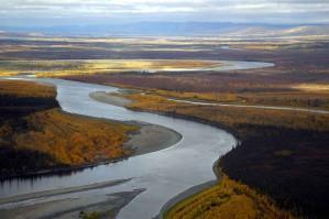 koyukuk, river, summer time, scenics