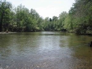 peu, rivière, peu, rivière, désert, refuge, Oklahoma