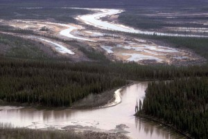 lower, Sheenjek, river