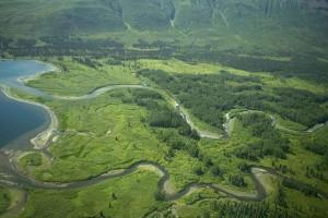 meander, river