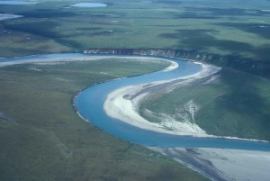 noatak, river, middle, section