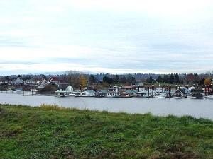 portland, river, water