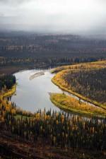 pluie, Koyukuk, rivière