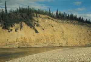 river, bluffs, scenic
