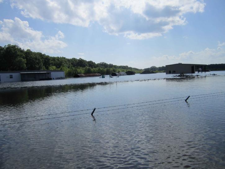 river, flooding
