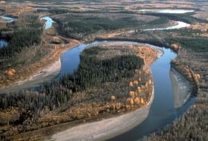 river, meanders, beautiful, landscapes