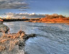 river, scenic, landscape