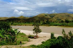 Artibonite, elven, mistenkt, kilde, kolera, utbrudd, Haiti