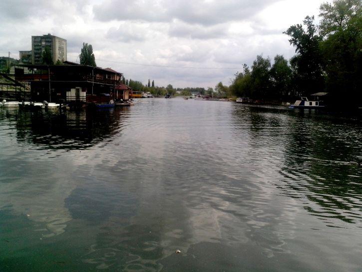 view, river, Tamis, Pancevo