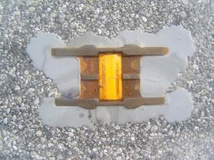 Réflecteur routier