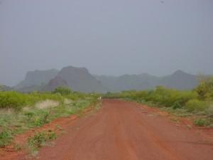 desert, road