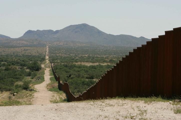 long, border, fence