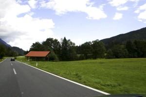 open, road, hills
