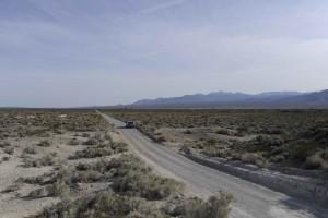 road, desert, nature, shrubs