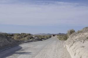 road, winding, desert, desert, side