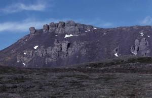 basalto, roca, formaciones, pintorescos, paisajes