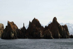 cathedral, point, spire, rock, formation