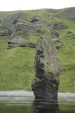columnar, basalt, rock, stone