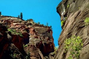 zion, parc national, naturel, rocher, formations, paysage
