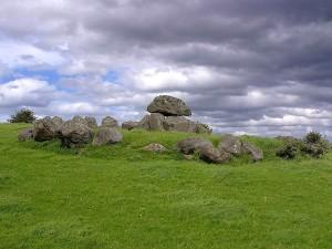 Irland, ein, Gräber, carrowmore