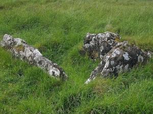 ireland, tombs, stones