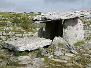 paulnabrone, grobnice, dolmene, burren, stijene, ploče