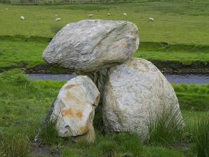 rocks, glen, river
