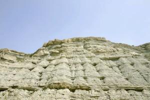sable, dune, devenant, pierre