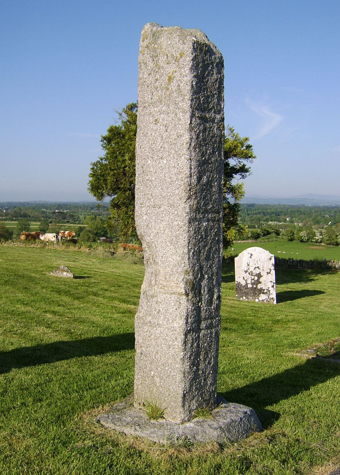 Free Picture Stone Cross Field