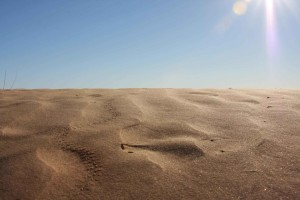 sable, dune, Cabeza, prieta, parc national