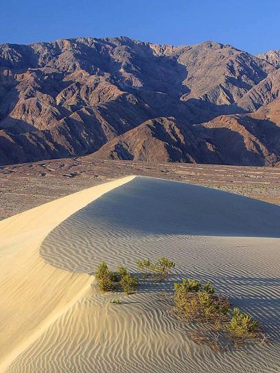 пясък, дюните