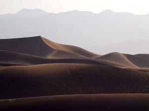 sable, dunes, coucher de soleil