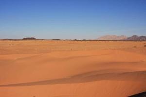 arena, dunas, rojo, dunas, arena