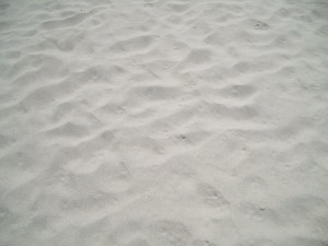 white, soft, sand, beach