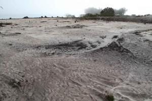 lavé, région, sable, plage
