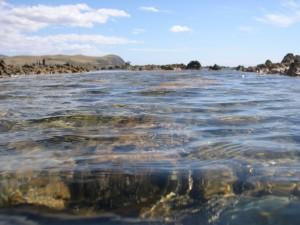 mer, les rochers