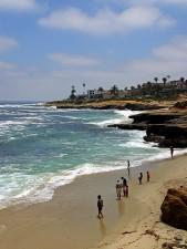 mer, le coût, la plage