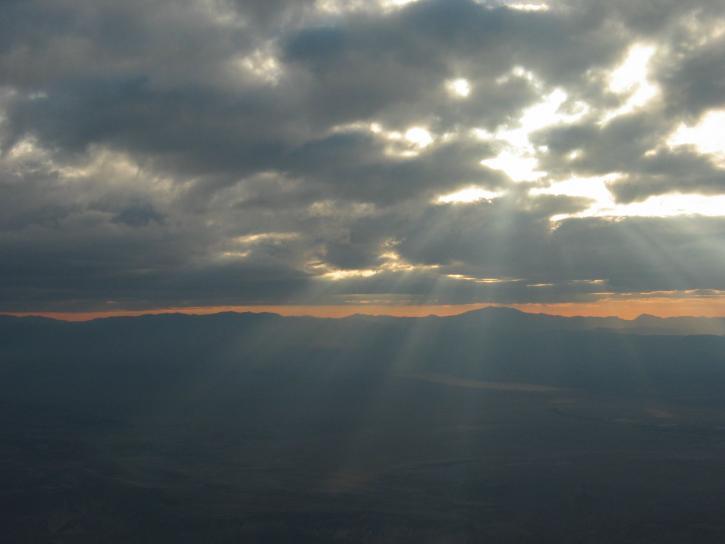 air, clouds