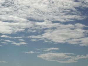 nuages, nature, paysage