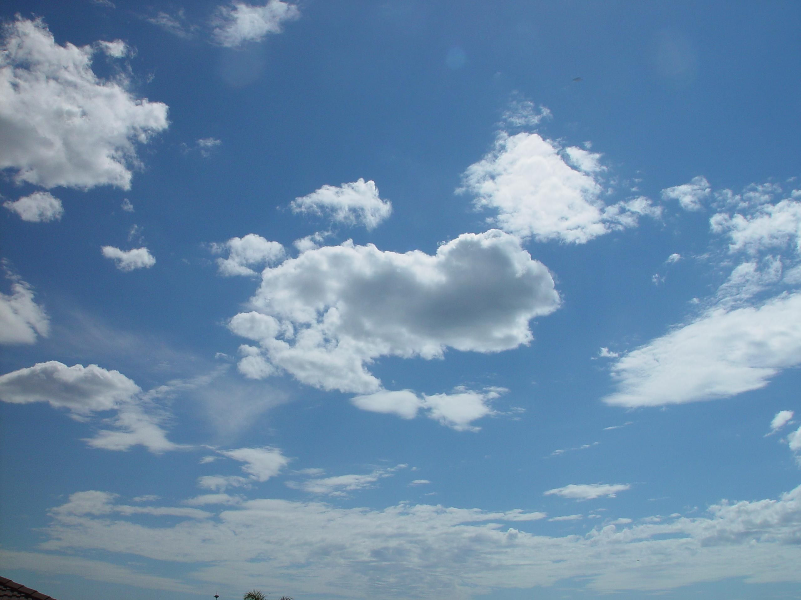 free picture currambine skyscape scattered clouds