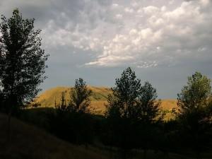evening, clouds, Kahuranaki, hawkes, bay
